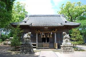 鴨川_吉保八幡神社