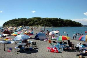 沖ノ島(海水浴場)